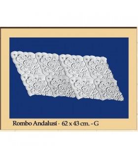 Rhombus Andalusi - Putz - 62 x 43 cm