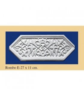Rombo Andalusi - Escayola - 27 x 11 cm