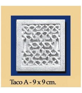 Taco Andalusi - Escayola - 9 x 9 cm