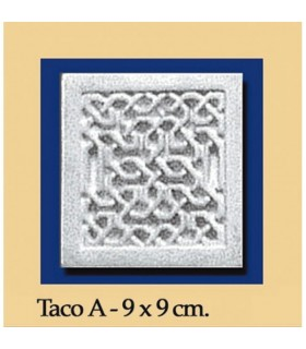 Вад-Аль-Андалус - гипс - 9 x 9 см