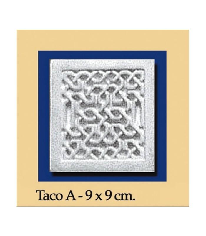 Wad Al-Andalus - plaster - 9 x 9 cm