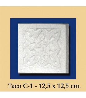 Wad Al-Andalus - intonaco - 12.5 x 12.5 cm