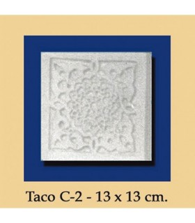 Wad Al-Andalus - plaster - 13 x 13 cm