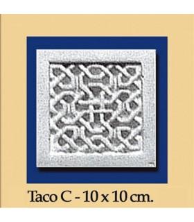 Taco Andalusi - Escayola - 10 x 10 cm