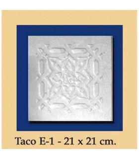 WAD Al-Andalus - plâtre - 21 x 21 cm