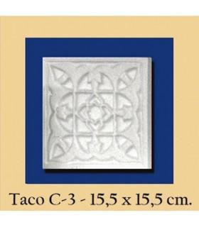 Wad Al-Andalus - intonaco - 15,5 x 15,5 cm