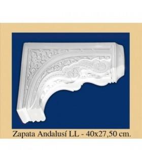 Zapata Andalusi - intonaco - 47 x 27.5 cm