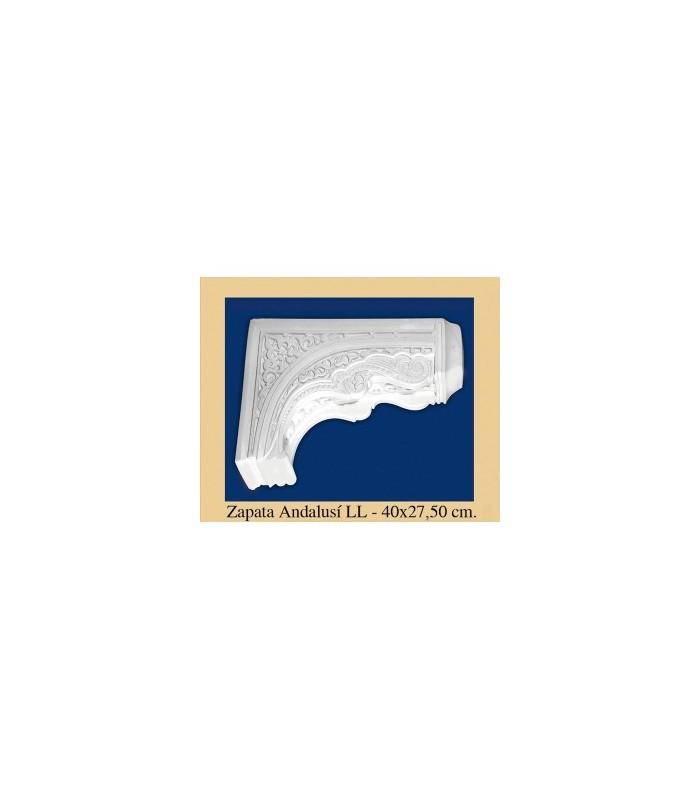 Zapata Andalusi - Plaster - 47 x 27.5 cm