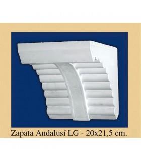 Zapata Andalusi - intonaco - 20 x 21,5 cm
