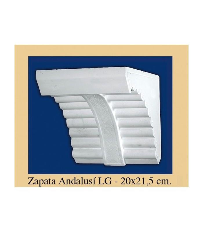 Zapata Andalusi - Plaster - 20 x 21.5 cm
