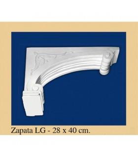 Zapata Andalusi - intonaco - 28 x 40 cm