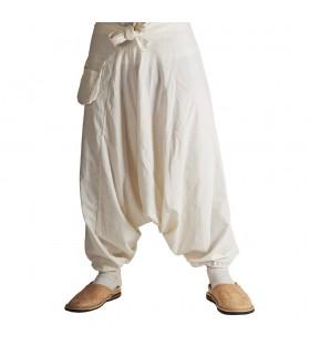 Bloomer Homens - algodão branco - um tamanho - Bolso