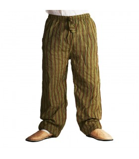 Pantalón Hombre Rayado- Algodón - Varias Tallas - Colores