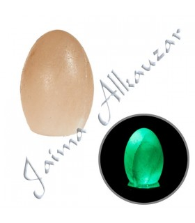 Egg Orange Himalaya Salt- Mineral Natural - Base color opcional