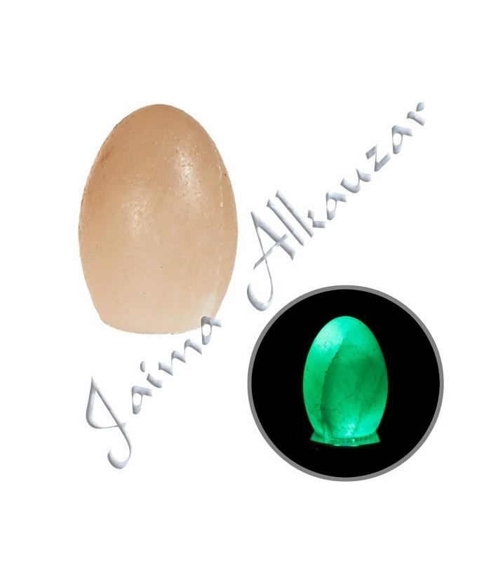 Egg Orange Himalaya Salt- Mineral Natural - Base color opcional