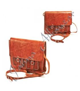 Documentos de couro pasta - Compartimento 4  - 28 cm