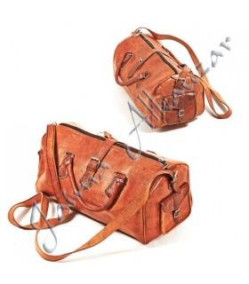 Duffle de voyage en cuir - Handmade - Travel Case - 3 tailles