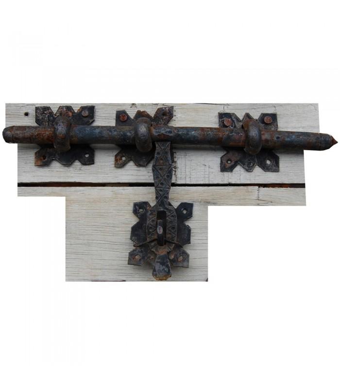 Pestillo de Forja - Cuadrados - 35 x 15 cm