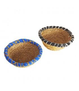 Artisan little basket Esparto - Presentation Gift Candies-10 cm
