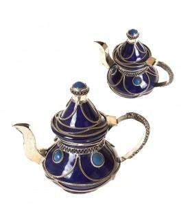 Decorative Ceramic Teapot and Alpaca - Various Colors - 16 cm