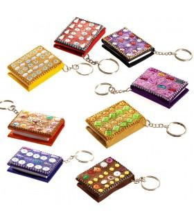 Schlüsselbund Miniatur brillantes Buch - können - 5 cm