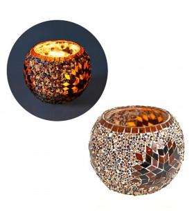 Turkish candle - glass Murano - handicraft Turkish size 4