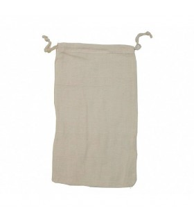 Cotton pouch - Closed string - Ideal nuts washed - 29 x 19 cm