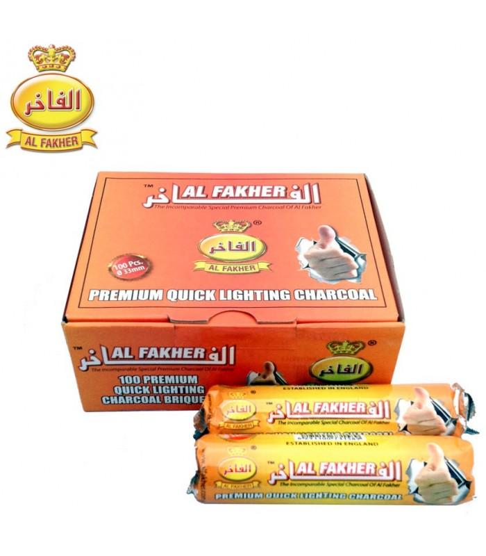 Carbón Al-Fakher Profesional - Gran Calidad - Pastillas - 33 mm