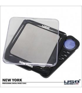 Bascula Eléctronica PRO - NEW YORK- 1000 gr - 0,1 gr - Funda