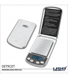 Scale electronics PRO - DETROIT - 600 gr - 0,1 gr - founded