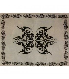 Ткань хлопок Индия - татуировка celtico-Artesana - 210 x 240 см