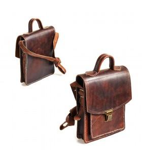 Couro carteira de artesão - grande qualidade - 2 cores
