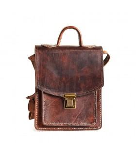 Кожаный портфель ремесленника - отличное качество - 2 цвета
