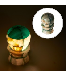 Spherical-Onyx lamp