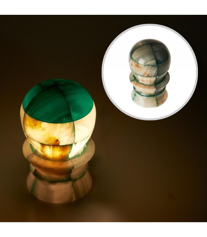 Spherical-Onyx lamp