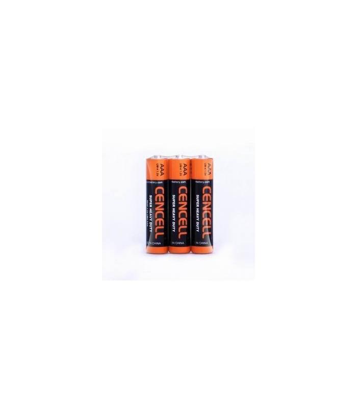 Pack - 3 batteries - AAA