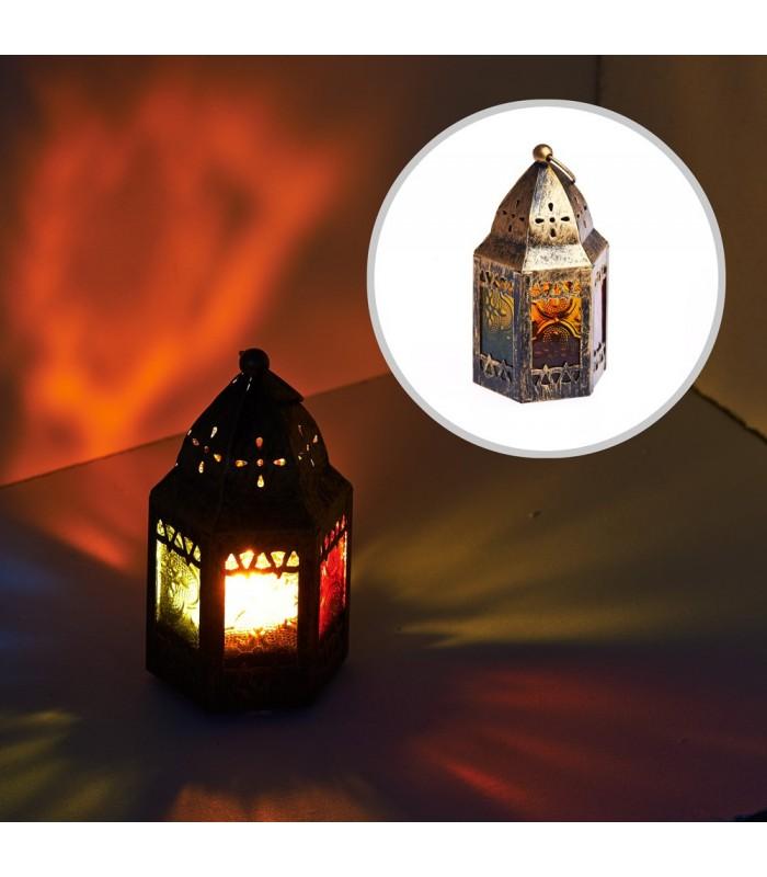 Lantern - octagonal-mosque-aged-11 cm