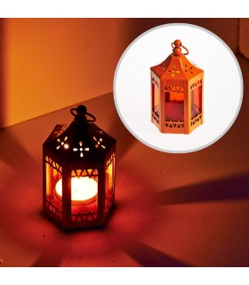 Lantern-octagonal-tent - multiple colors - 11 cm