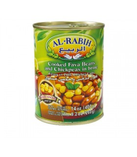 Beans with chick-peas in canned - 400 g