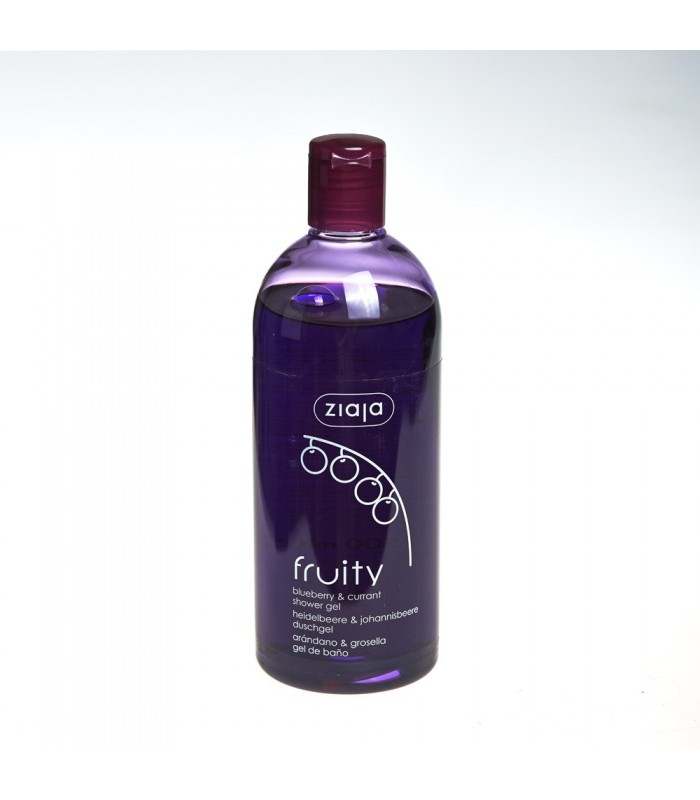 Gel for bath - Blueberry and currant - 500 ml