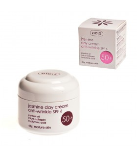 Crema Facial De Dia- Anti-Arrugas SPF 6- Jazmín- 50 ml