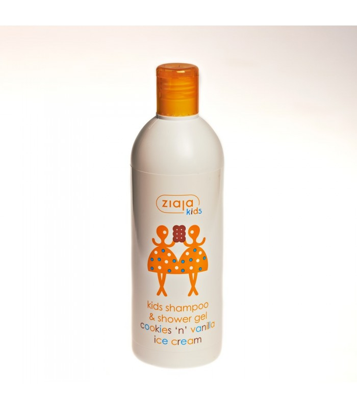 Gel and shampoo for kids - biscuits and vanilla - ice cream 400 ml