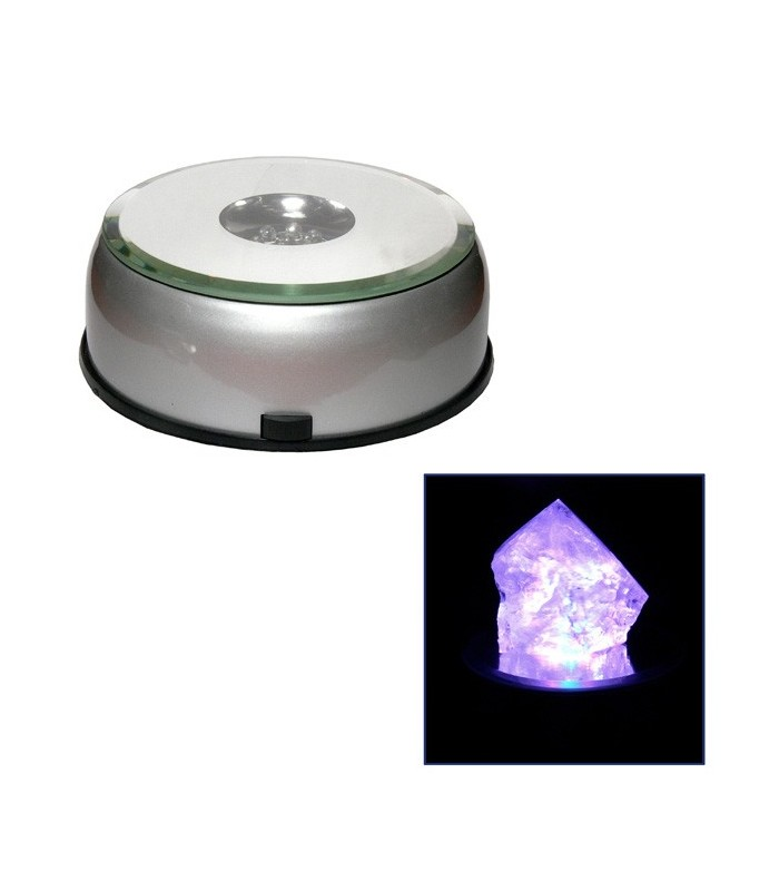 Base Multi Color Led - 8 cm diameter - rotating - exposure products