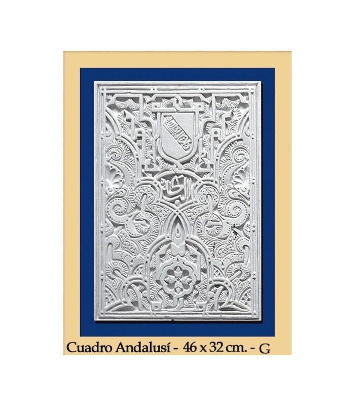 Al-Andalus - plaster - 42 x 32 cm box