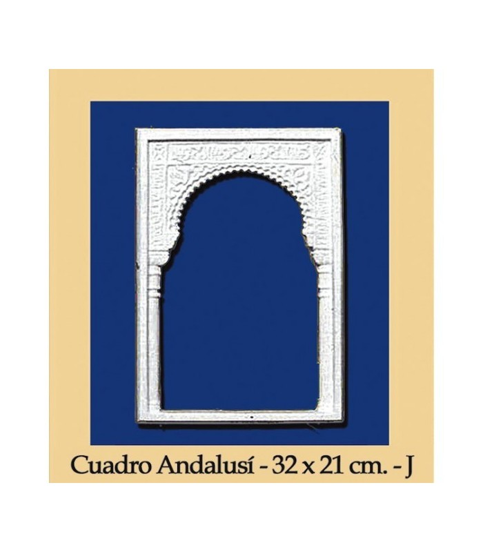 Cuadro Andalusi - Escayola - 32 x 21 cm