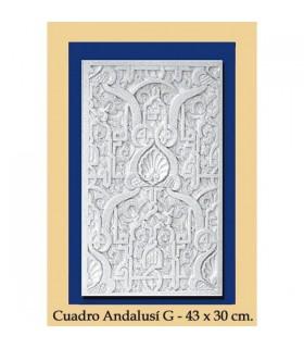 Al-Andalus - gesso - caixa 43 x 30 cm