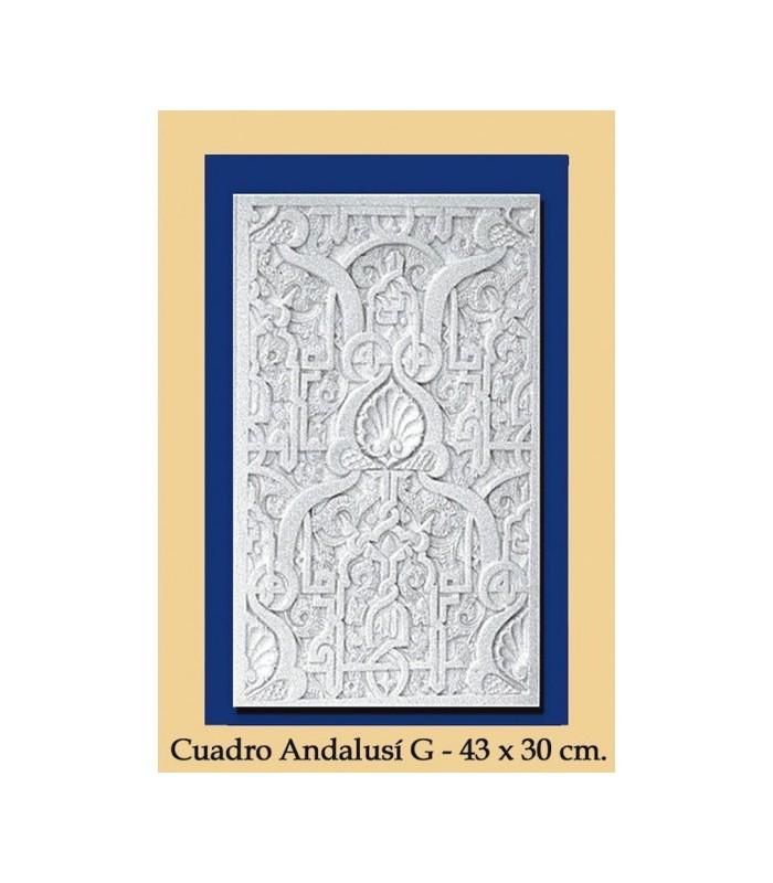 Cuadro Andalusi - Escayola - 43 x 30 cm
