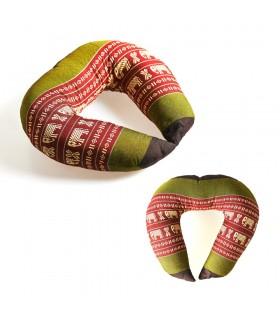 Coussin Cervical Thaïlande - adulte taille - 25 cm - différentes couleurs