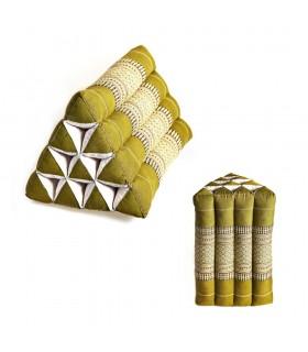 Pad Thai triangulaire - 2 tailles - brodé de couleurs ethniques