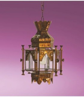 Antique Lantern model Alcaiceria - Granada Andalusian series – various finishes